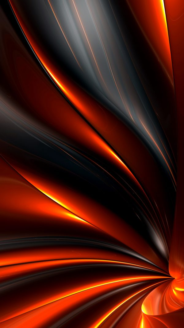 Abstract Fire - Walls iPhone