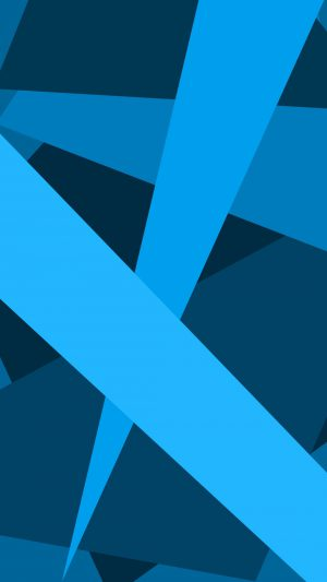 Abstract Blue Lines