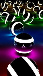 Abstract Colors Balls