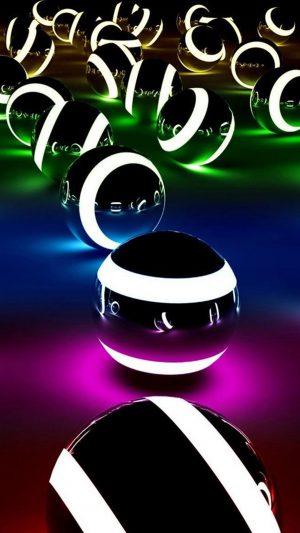 Abstract Colors Balls