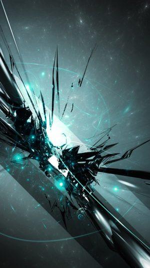 Abstract Cyan