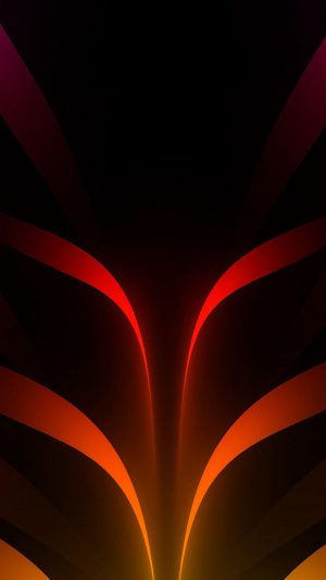 Abstract Orange Art