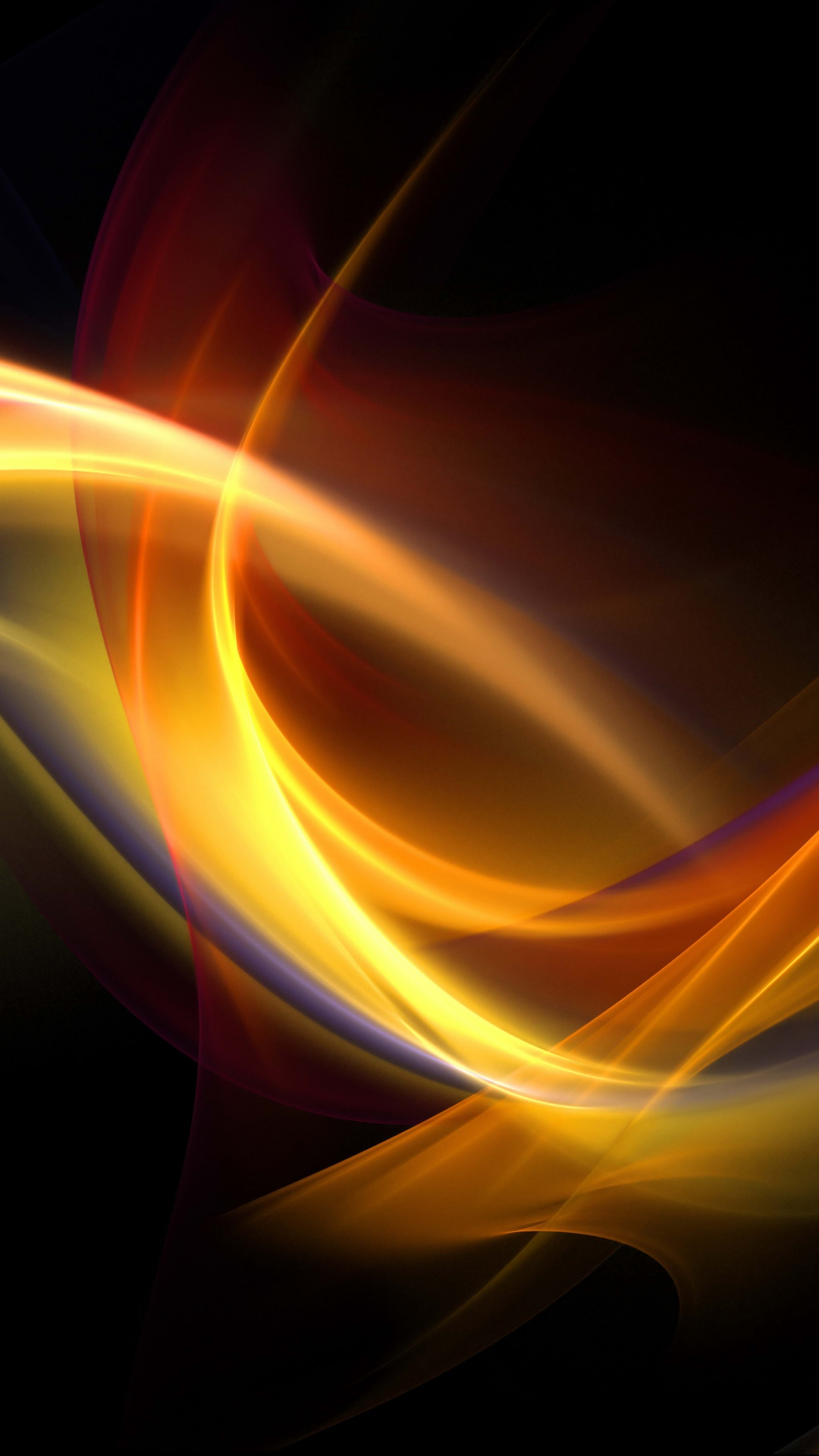 Abstract Yellow Blue