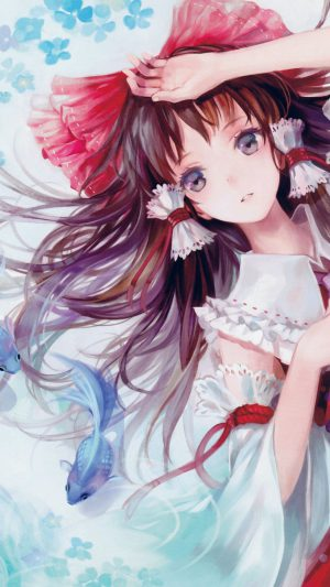 Anime Art Paint Girl Cute