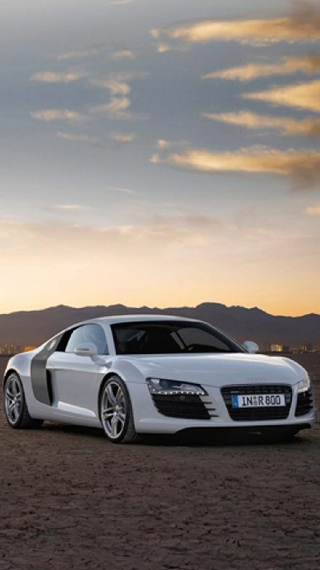 Audi R8 Sunset
