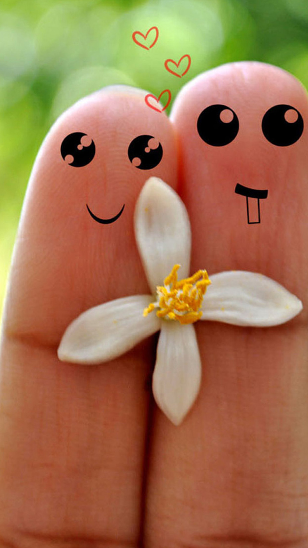 Cute Love Cartoon Couple Wallpapers For Iphone