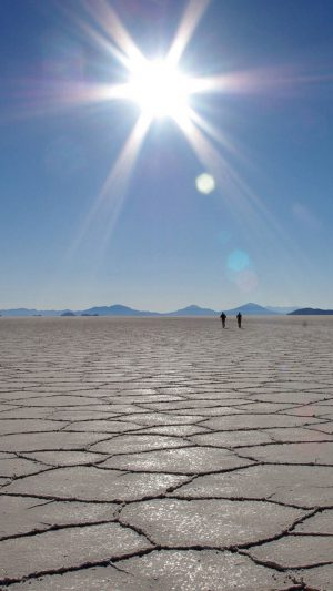 Dry lands and sun