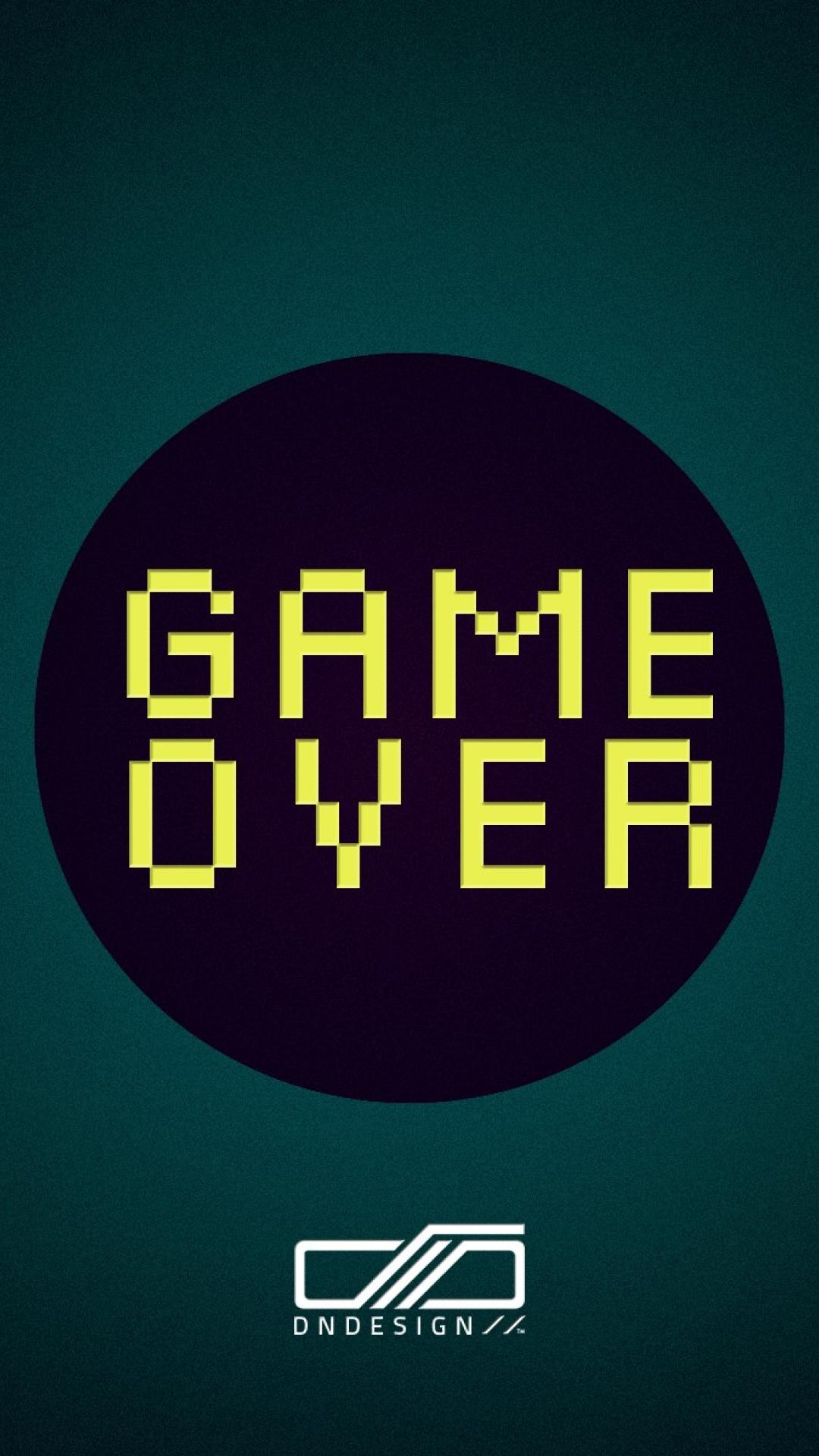 Game Over Quote Iphone Wallpaper Wallpapers For Iphone