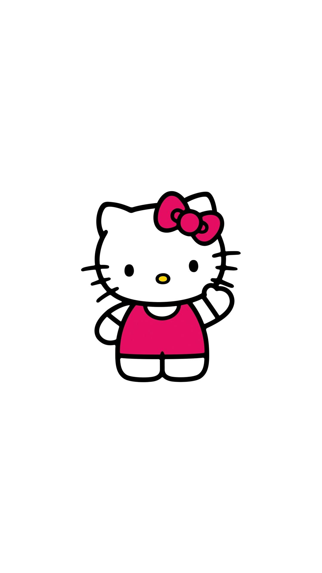 Hello Kitty Art Cute Logo Minimal