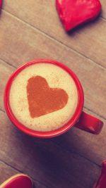 Love Coffee Red