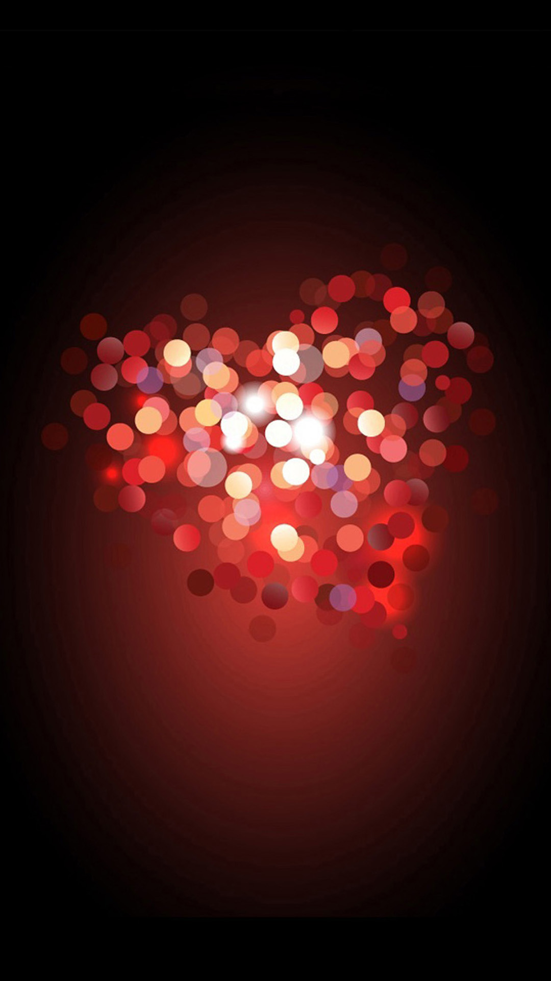 Love Heart Bokeh