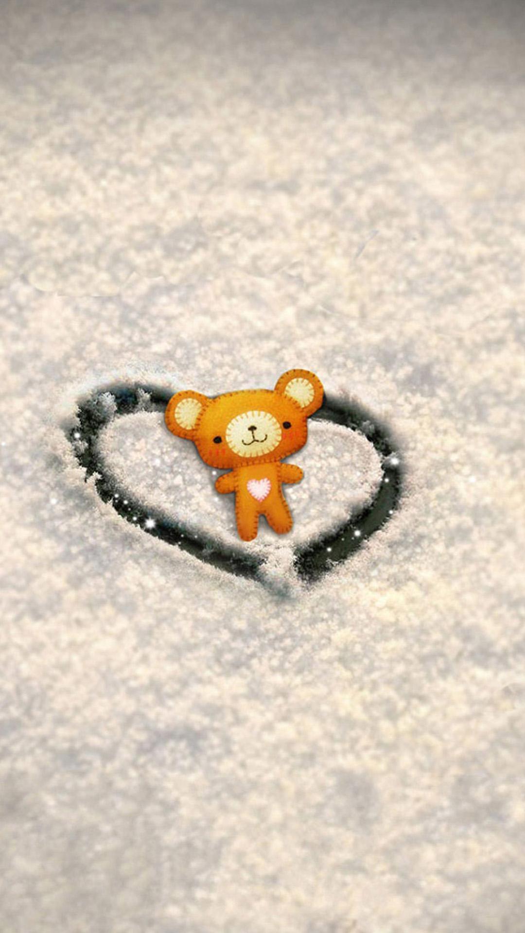 Love Wallpaper Snow