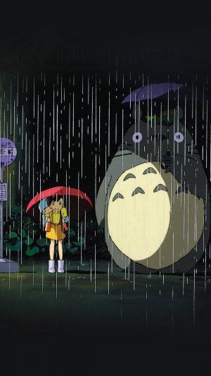 My Neighbor Totoro Art Illust Rain Anime