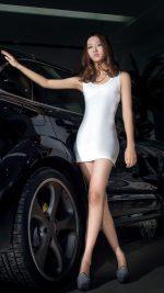 Porsche SUV Girl