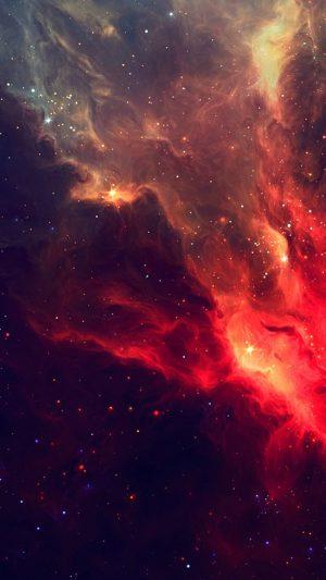 Wonderful Shiny Starry Nebula Cloudy Space
