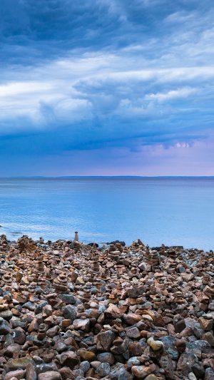 Rock Stone Beside Sea