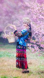 Chinese Ethnic Culture girl 1