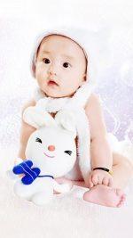 Cute Baby Asian
