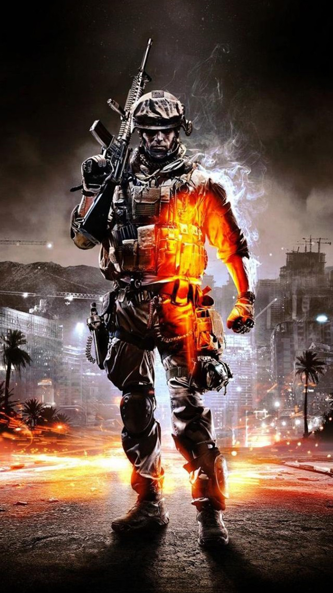 Call of Duty Ghosts Orange Soldier