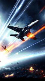 Battlefield Planes Fire