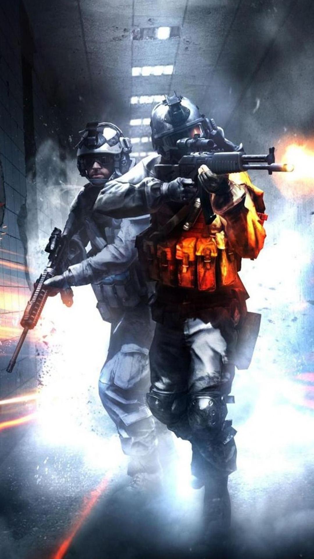 Battlefield Orange Blue