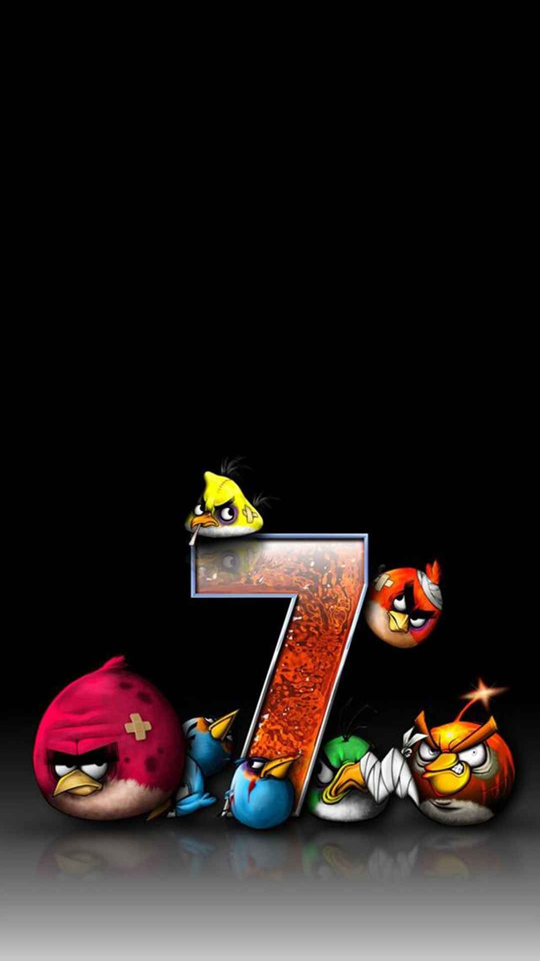 Angry Birds 7 Funny Wallpapers For Iphone