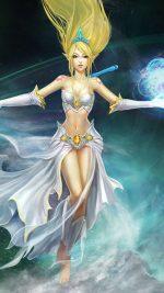 League Of Legends Girl Character Elf