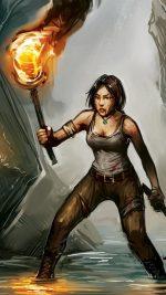 Lara Croft Art Anime