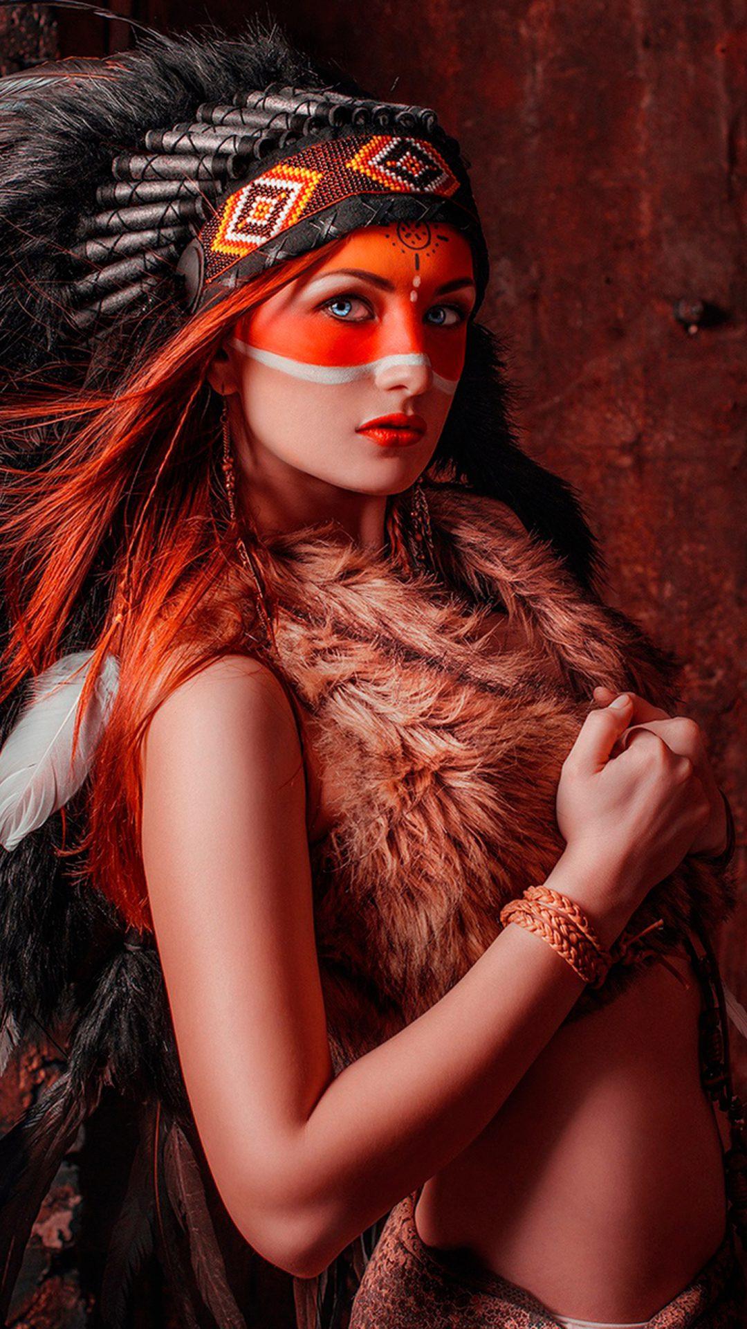Pretty tribal beauty