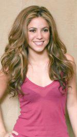 Shakira pink skirt