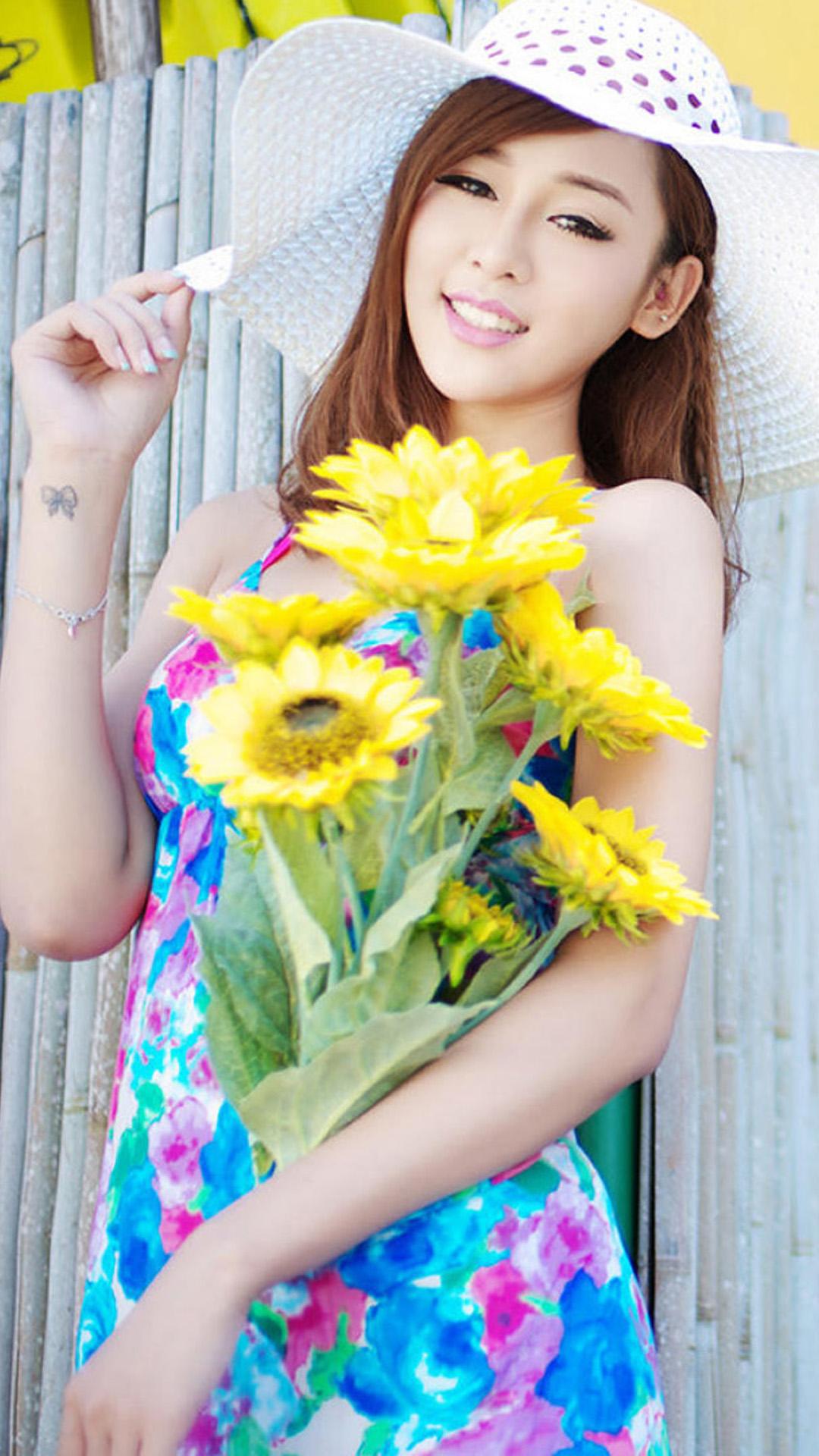 Summer sweet girl Korean