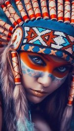 Tribal art beauty