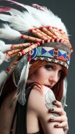 Tribal beauty clothes