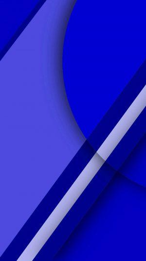 3D Blue Geometry Graphics