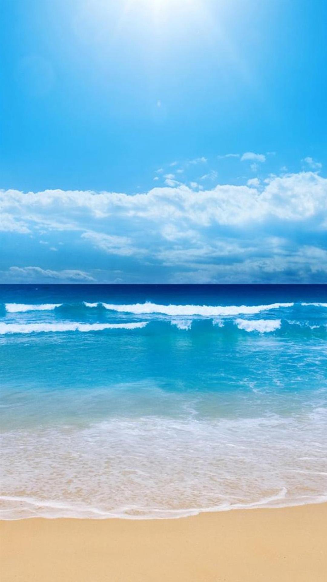 White beach great skies