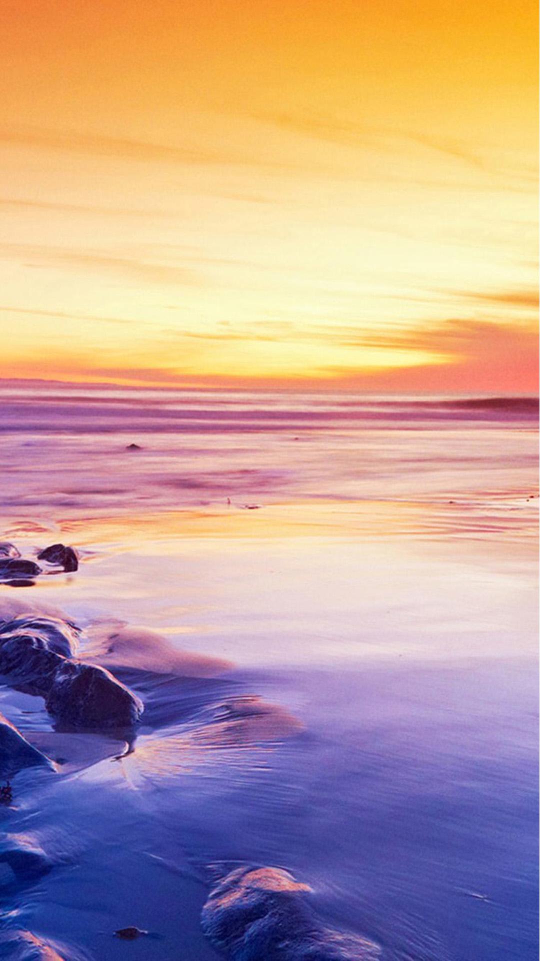 Sunset Beach Sea