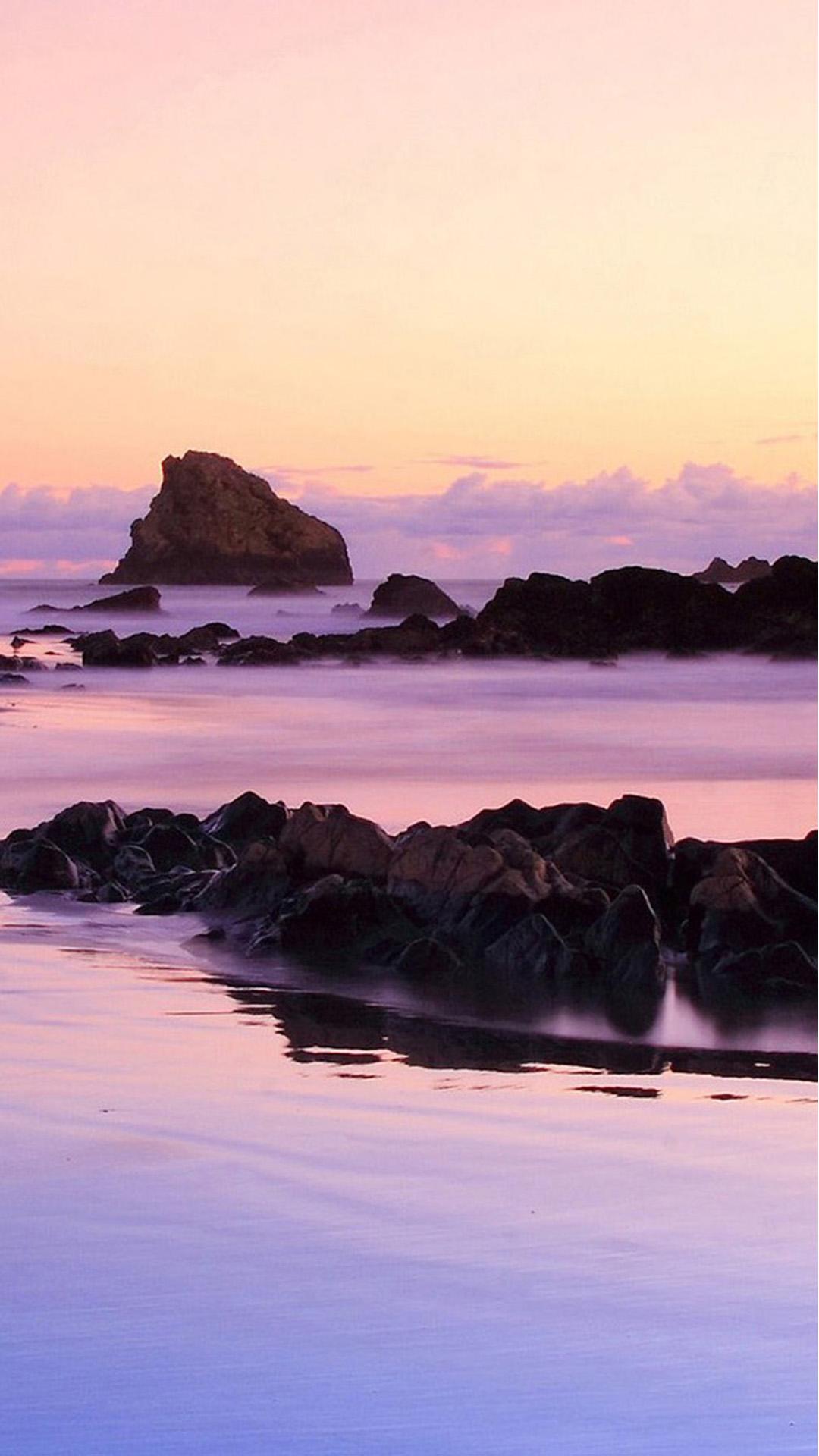 Beach Purple