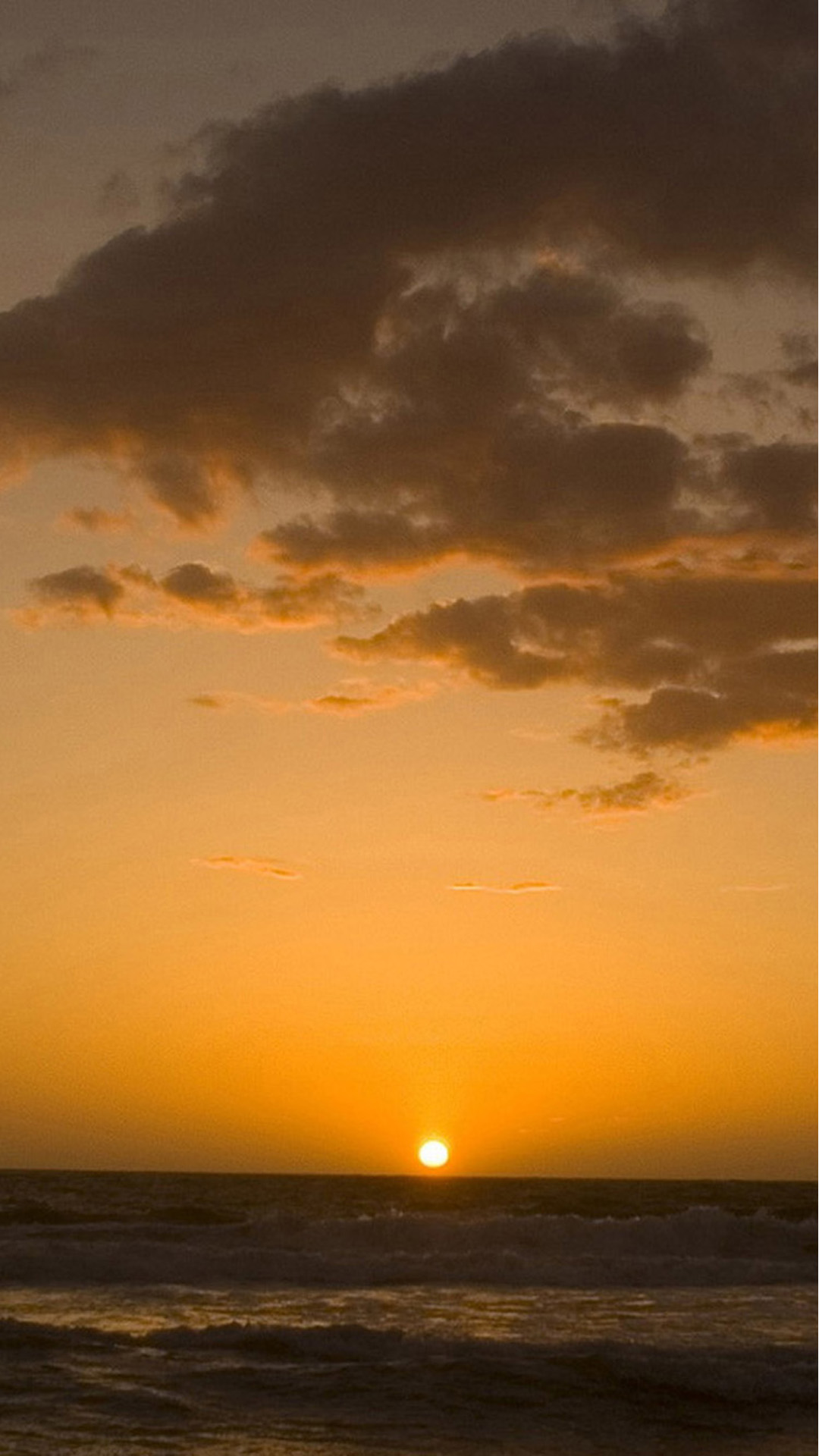 Nice sunset at sea