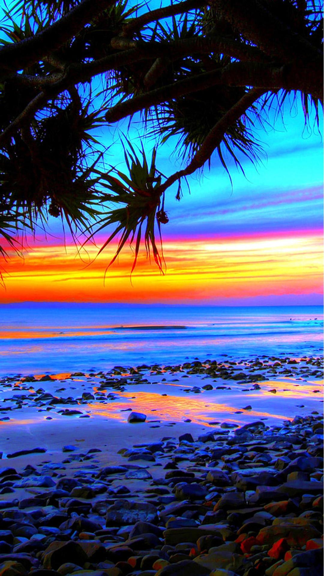Beach Colorful