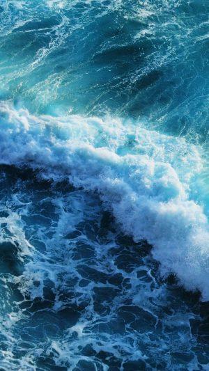 Beautiful blue waves