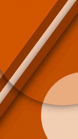 Beautiful orange geometric