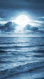 Blue Beach at dusk