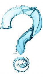 Creative Water question mark