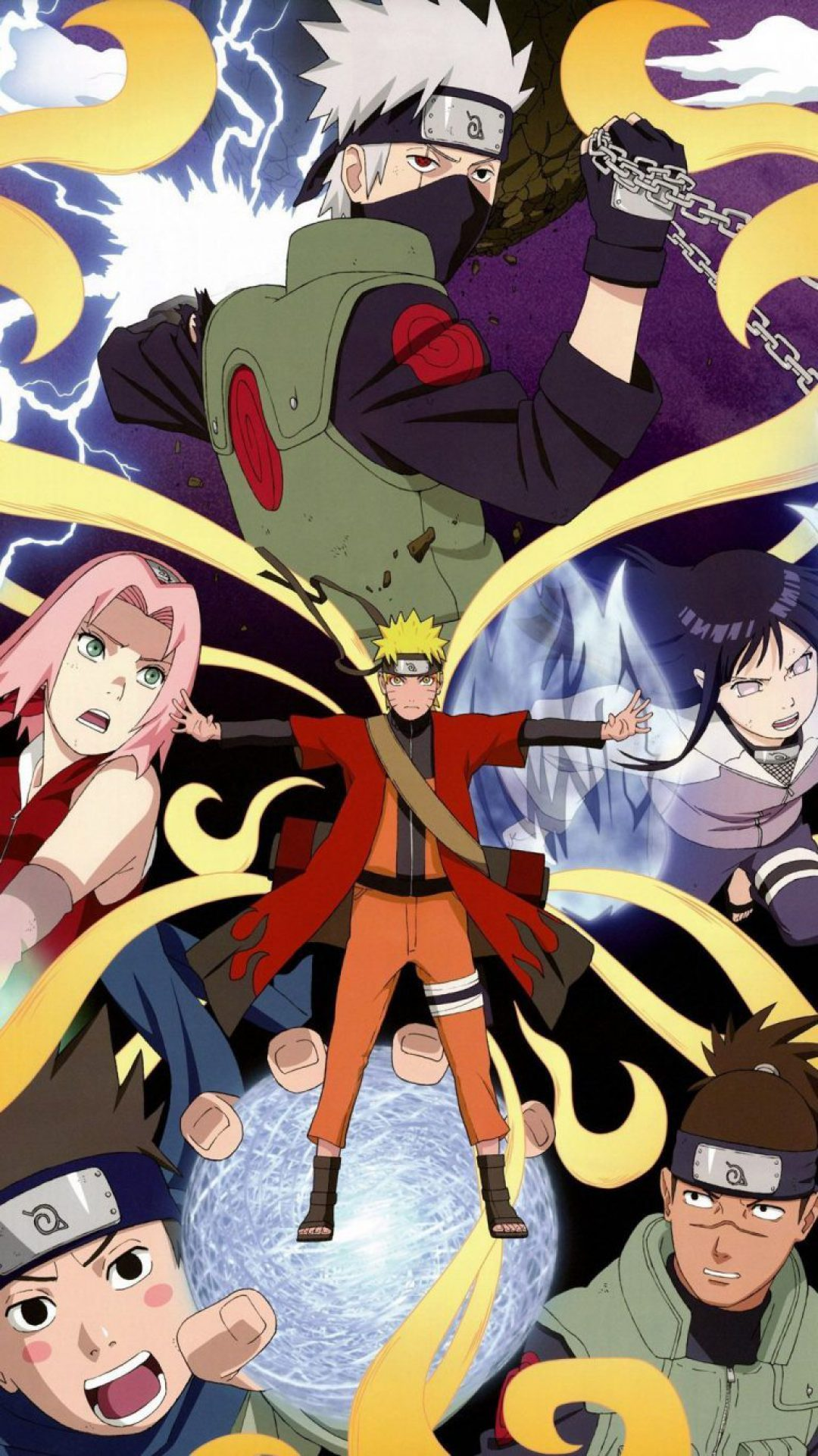 Naruto Team Wallpapers For Iphone