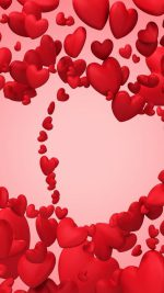 Hearts Love Red