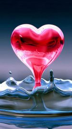 Water Drop Hearts