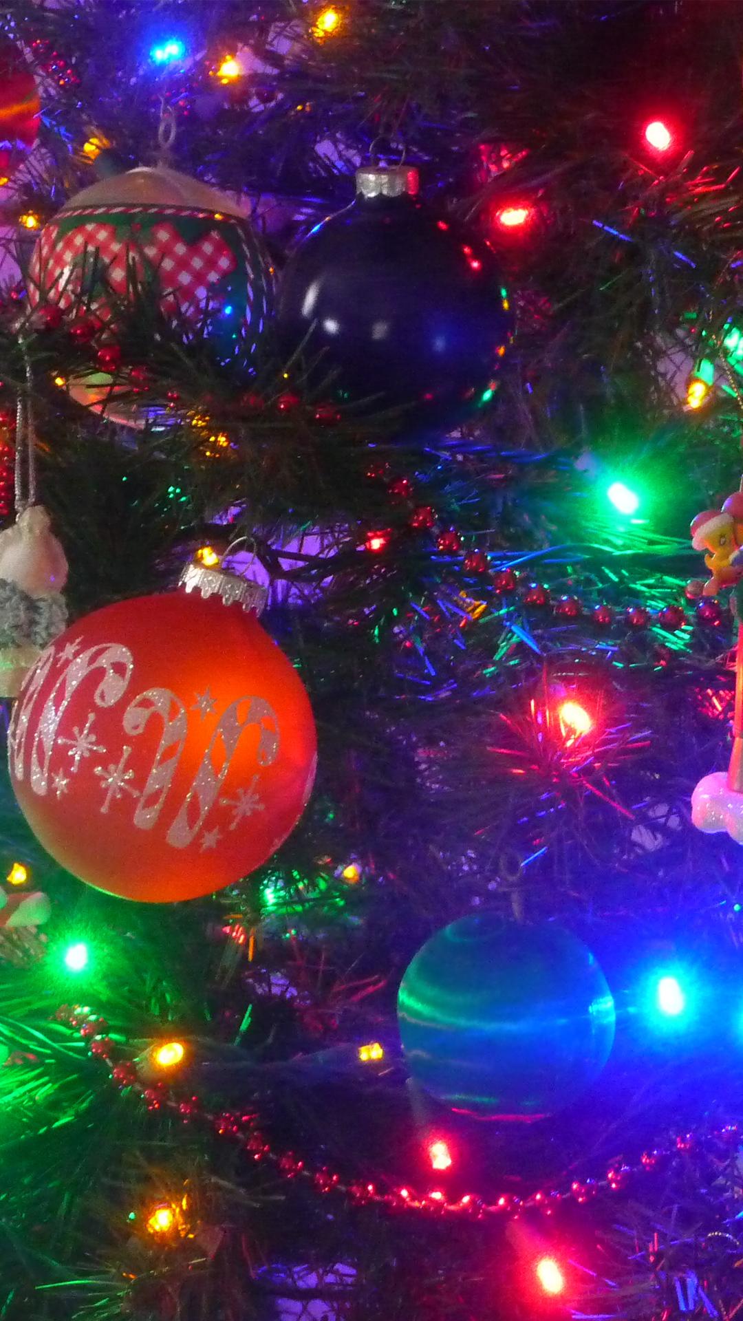 Christmas Tree Colorful Lights