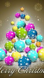 Colorful Merry Christmas