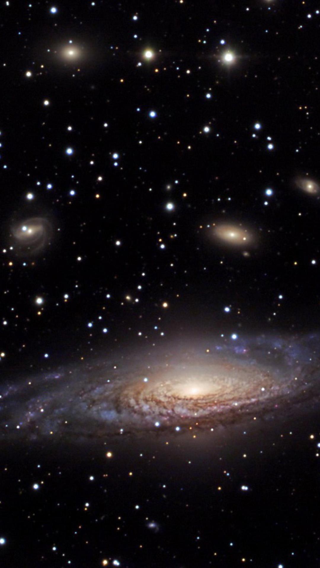 3D Space Galaxy