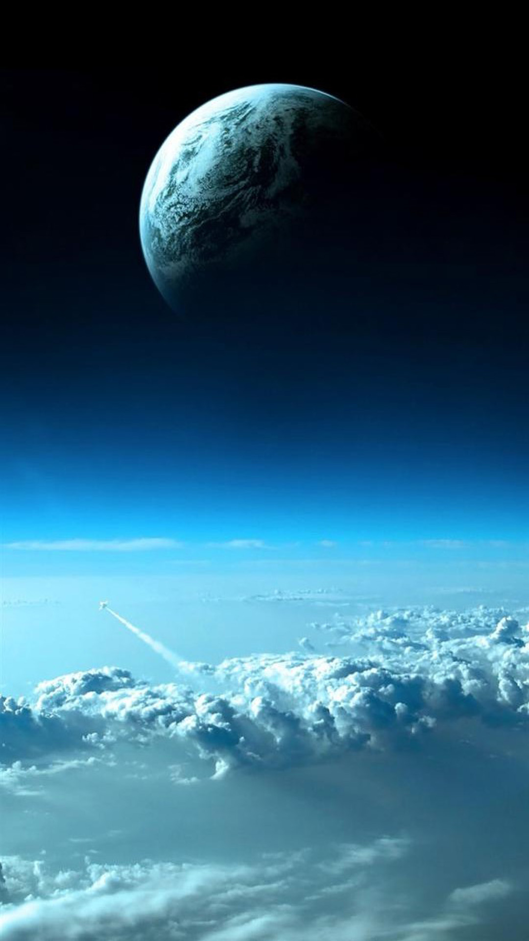 Beautiful Blue Space